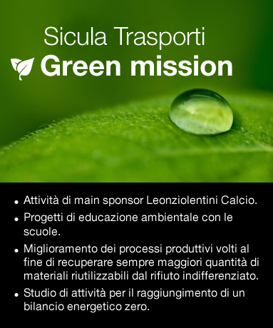 Sicula Trasporti - Green Mission