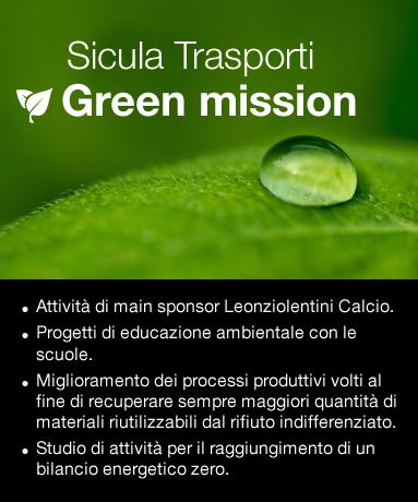 Sicula Trasporti - Green Mission